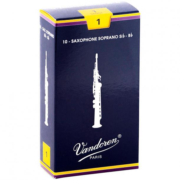 Vandoren Blå Sopran-Saxofon Blade