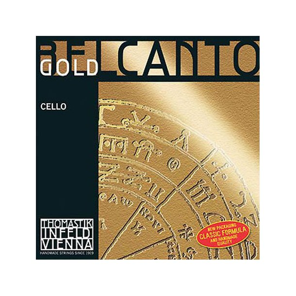 Belcanto GOLD cello string C