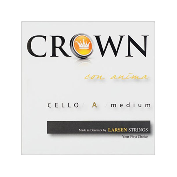 Crown cello string A