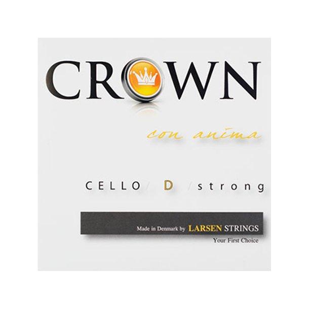 Crown cello string D