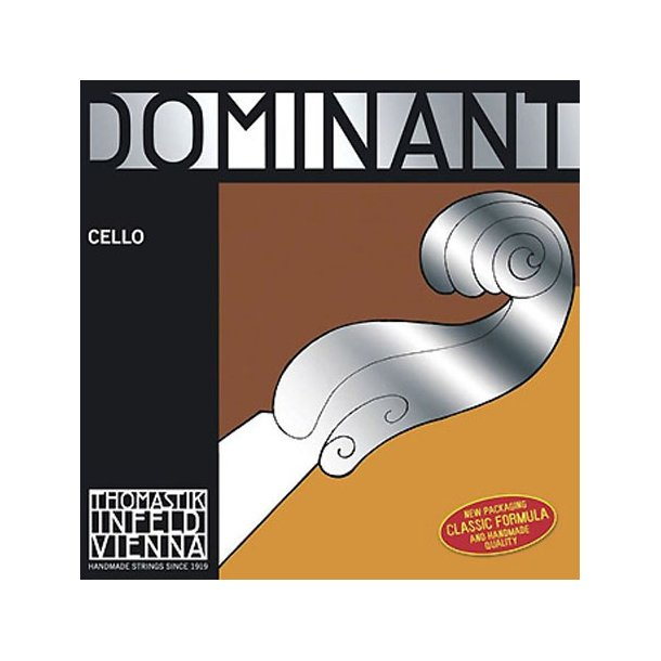 Dominant cello string G with silver wound