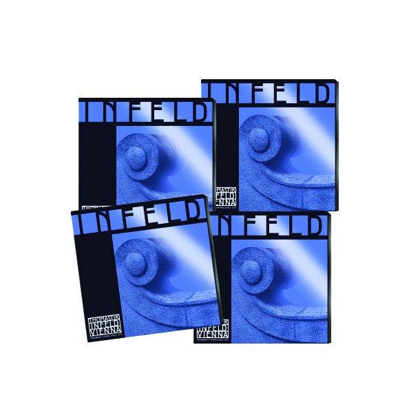 Indfeld BLUE violin - sæt