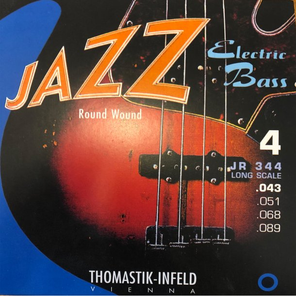 Thomastik Jazz El-bass Round Wound JR 344 Long Scale