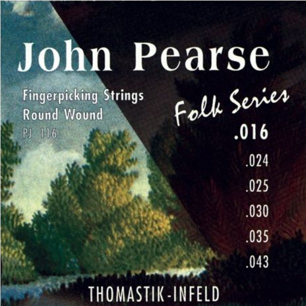 Thomastik John Pearse (stål på spansk guitar)