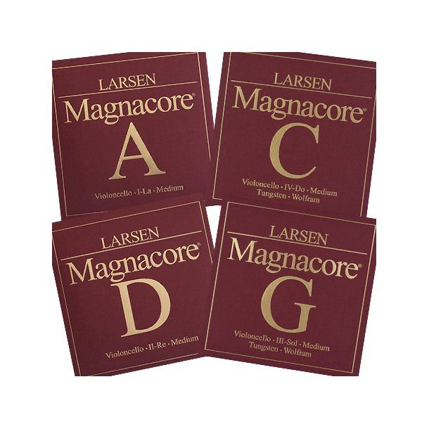 Magnacore cello strings SET