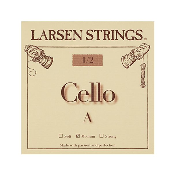 Cello string 1/4 - 3/4 A