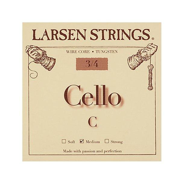 Cello string 1/4 - 3/4 C