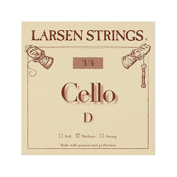 Cello string 1/4 - 3/4 D
