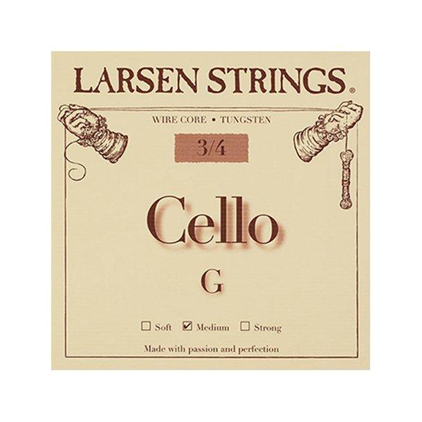 Cello string 1/4 - 3/4 G