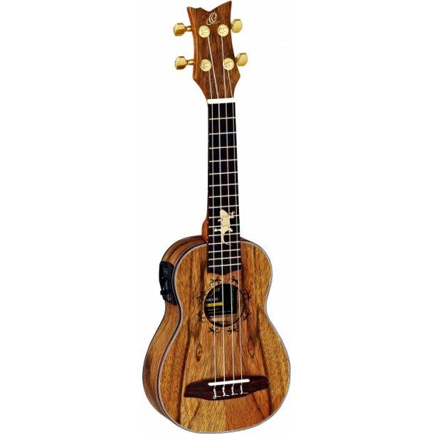 Ortega Concert ukulele - LIZARD series - med pickup