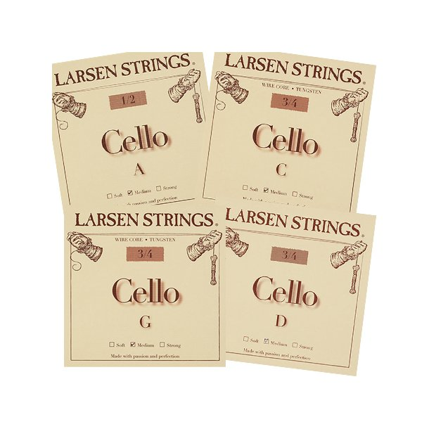 Cello string 1/4 - 3/4 SET