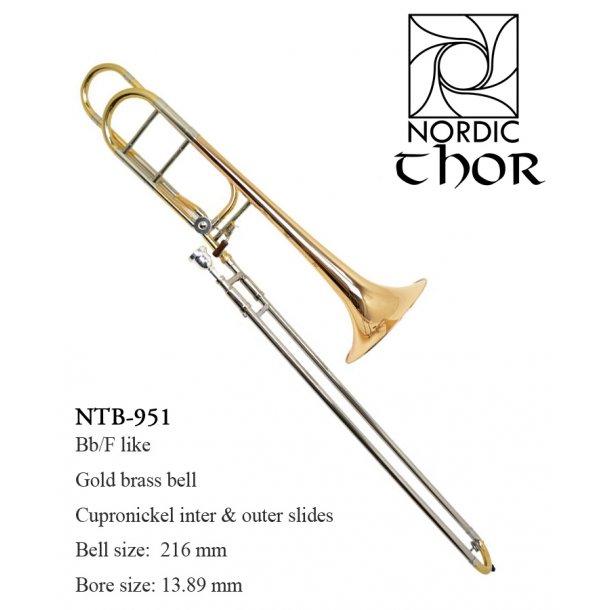 NTB-951TH Bb/F ventil Tenor trombone mod. Thor