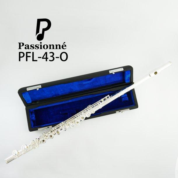 Tværfløjte: Passionné PFL-43 Åbne huller