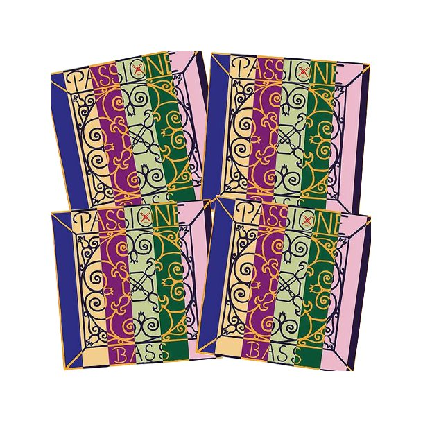 Passione bass strings SET