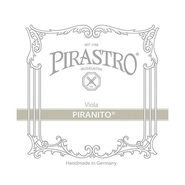 PIRASTRO Piranito Viola C 4/4-3/4-1/2 Steel, chrome steel wound ball end