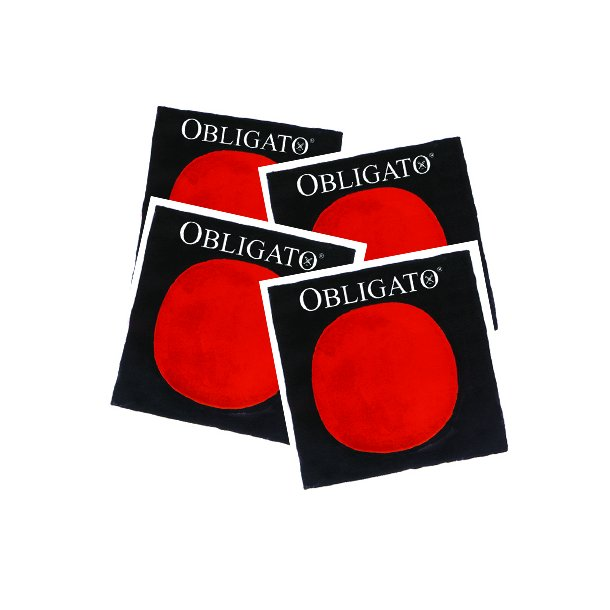 Obligato viola SET A ball end (removeable) D-G-C ball end