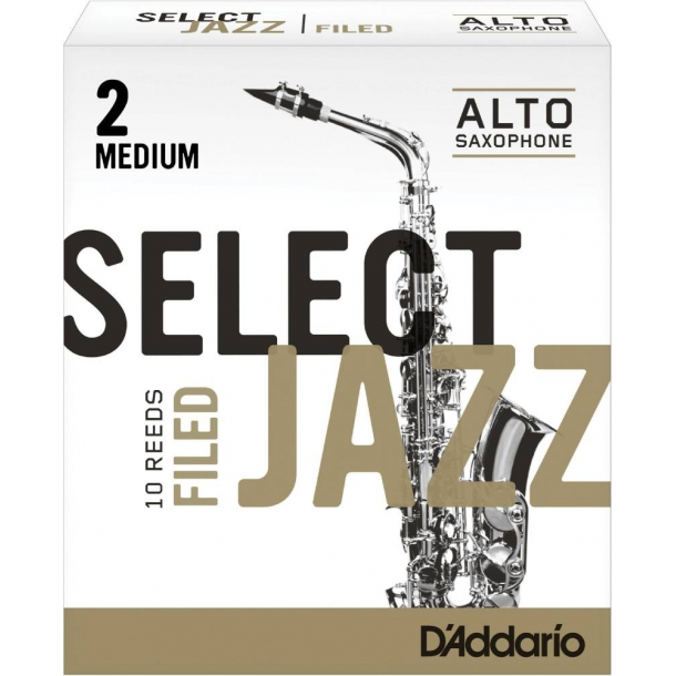 Rico Select Jazz Alt-Saxofon Blade - 10 stk