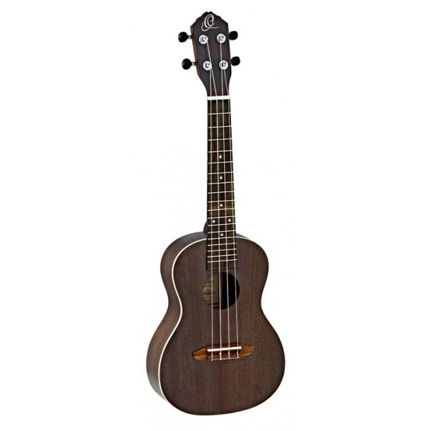 Ortega Concert ukulele - Earth series - Coal