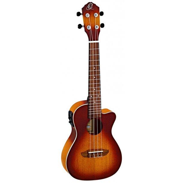 Ortega Concert ukulele - Earth series - Dawn med pickup