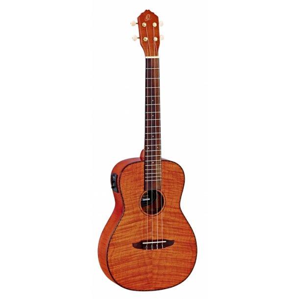 Ortega Baritone ukulele - RUK series - med pickup