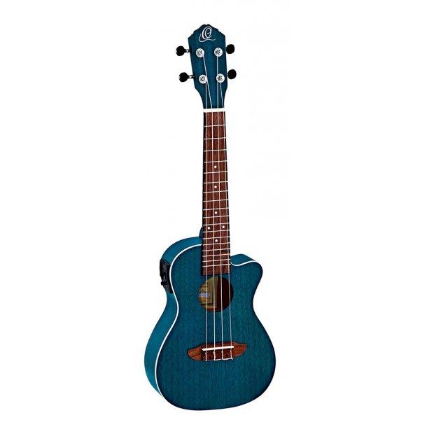 Ortega Concert ukulele - Earth series - Ocean med pickup