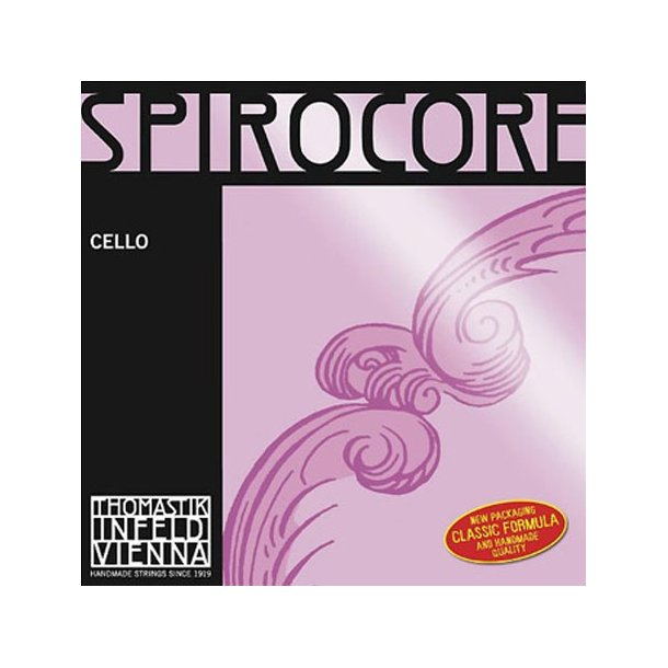 Spirocore cello string C with silver wound