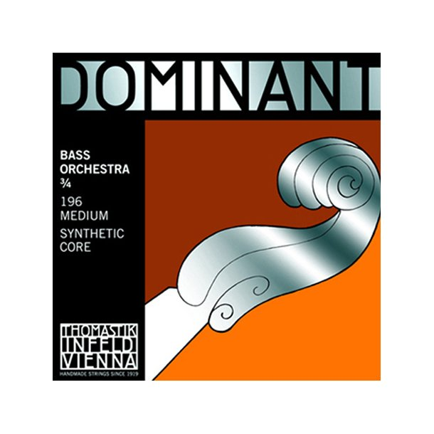 Dominant bass string A