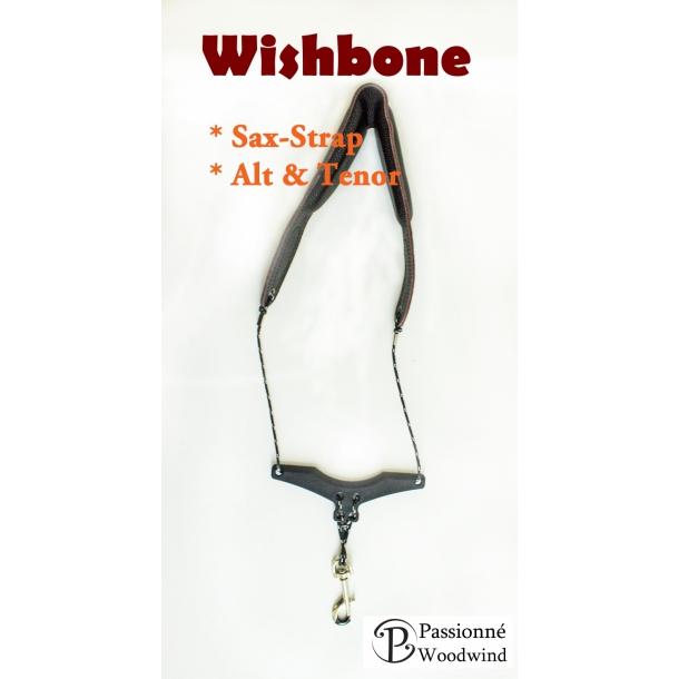 Wishbone Sax-Strap læder SUPERTILBUD