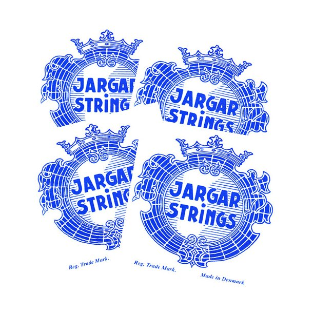 JARGAR Violin strenge set ball end E