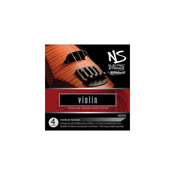 NS Elektrisk Violin sæt strenge