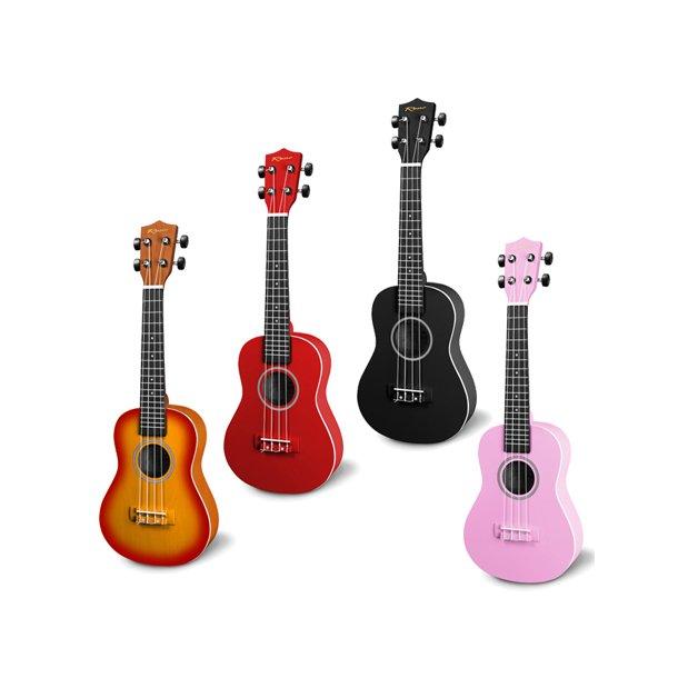 RENO Grand Concert ukulele - 4 farver