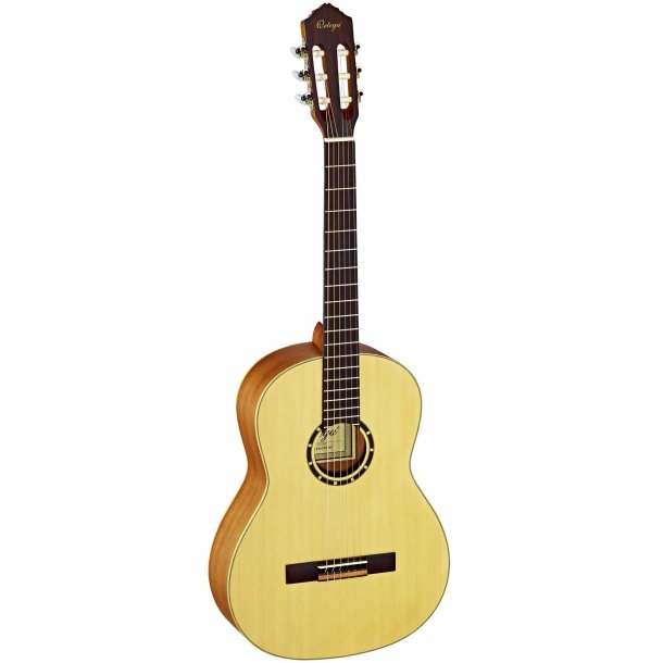 Ortega Nylon String Guitar 4/4 Satin finish - slim neck
