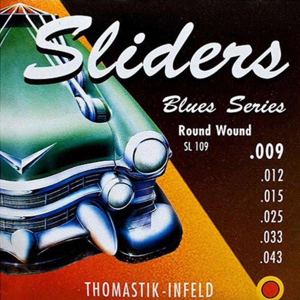 Thomastik Sliders blues 009, 010