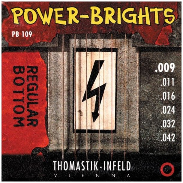 Thomastik Power-Brights 009, 010 & 011