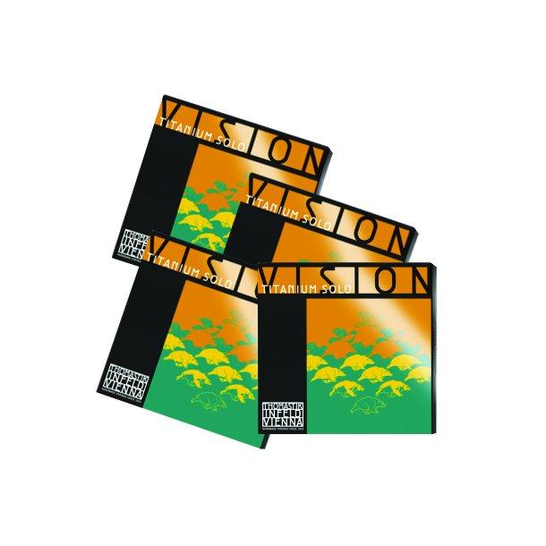 Vision Titanium Solo - sæt