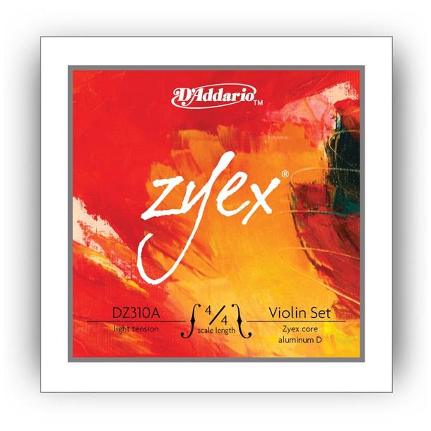 Zyex Sæt Sølv Violin